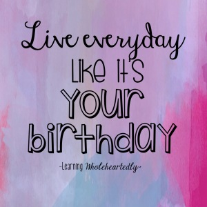 Birthday Quote for instagram