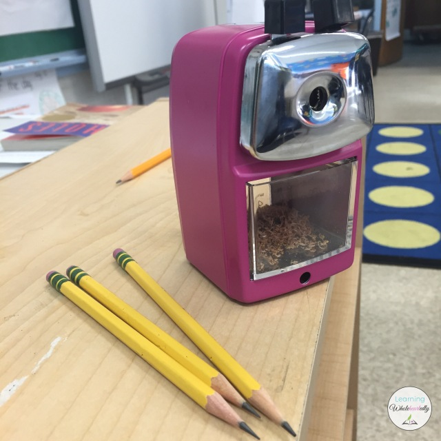 Classroom Friendly Supplies Pencil Sharpener